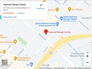 Hayward Design Centers on Google Maps